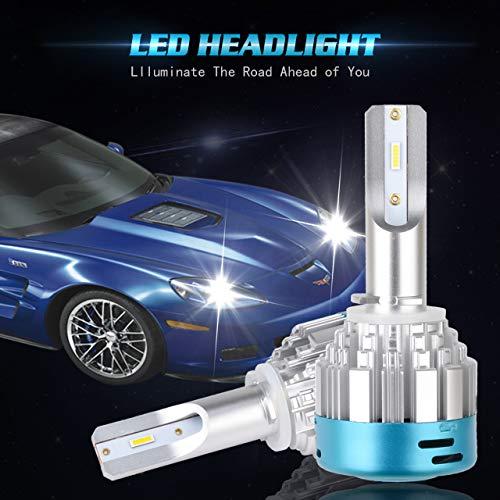 KaTur 9005 LED Ampoules de Phare kit de Conversion HB3 527d CSP 28 W 4000lm 6000 K Blanc Froid LED Haute Faisceau de Remplacement Bulbs-2 YR Garantie