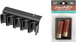 東京マルイ ガスショットガン M870シリーズ用 ショットシェルホルダー & ショットシェル型 30発マガジン レッド 2個入り【セット買い】