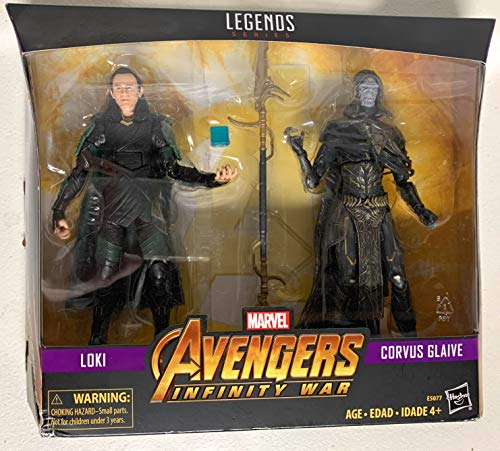 MV Legends Series Avengers: Infinity War Loki & Corvus Glaive 2-Pack