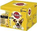 Pedigree Adult Hundenassfutter für ausgewachsene Hunde im Portionsbeutel ? verschiedene Sorten, 2 x 24 x 100g