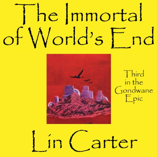 The Immortal of World's End audiobook cover art