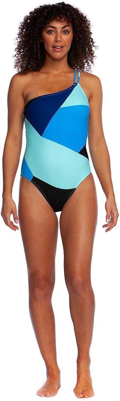 La whitea Women's Shoulder One Piece Swimsuit