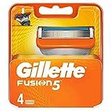 Gillette Fusion5 Lamette di Ricambio - 4 Pezzi