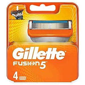 Gillette Fusion 5 cuchillas de repuesto para hombre, 4 unidades