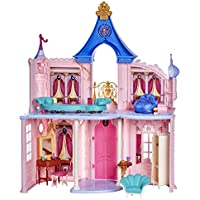 Disney Princess Fashion 3.5 feet Tall Doll Castle with 16 Accessories and 6 Pieces of Furniture