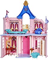 Disney Princess Fashion Doll Castle, Dollhouse 3.5 feet Tall with 16 Accessories and 6 Pieces of Furniture (Amazon...