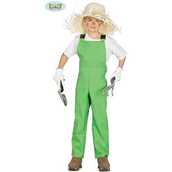 Disfraz de mono trabajo verde granjero: Amazon.es: Juguetes y juegos