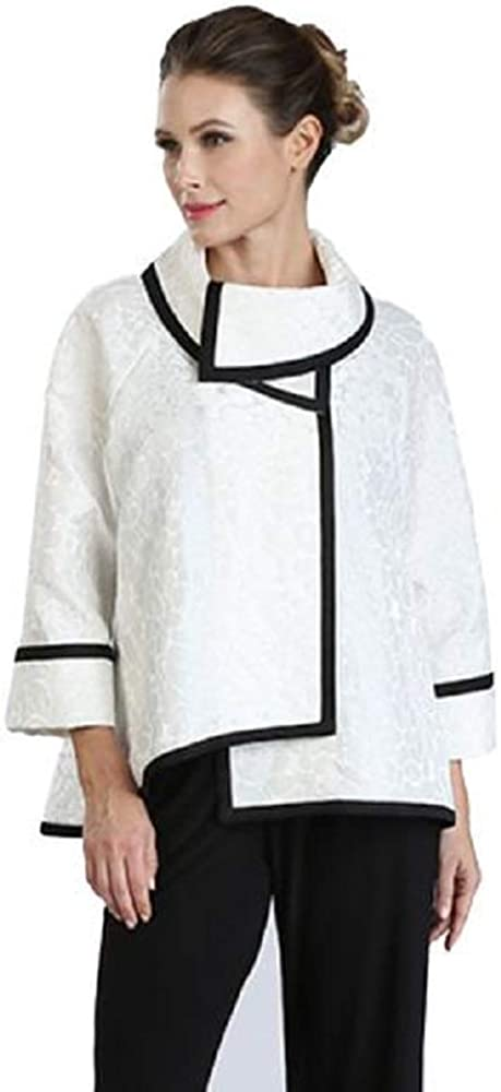 IC Max 62% OFF Collection Jacquard High-Low Direct store 3004J - Jacket