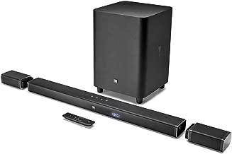 JBL Bar 5.1 4K Ultra HD 5.1-Channel Soundbar with True Wireless Surround Speakers (Renewed)