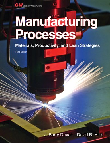 Image OfManufacturing Processes: Materials, Productivity, And Lean Strategies