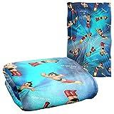 Trevco Astro Boy Pattern Silky Touch Super Soft Throw Blanket 36' x 58'