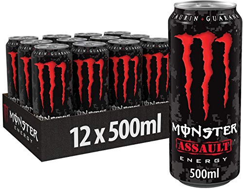 Monster Assault Energy Drink, 12er Pack, EINWEG (12 x 500 ml)