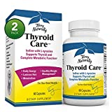Terry Naturally Thyroid Care - 120 Capsules - Pack of 2 - Iodine + L-Tyrosine - Thyroid Support - Promotes Energy, Metabolism & Lustrous Hair - Non-GMO, Gluten Free, Kosher - 120 Total Servings
