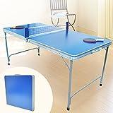 【卓球台 家庭用 ピンポン台 折り畳み式 コンパクト 持ちはこび 】折りたたみピンポン台(JT-017)