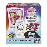 Sagrotan Kids No Touch - Dispenser di sapone automatico per bambini, Inclusa ricarica ed adesivi, Modelli assortiti, 1 pezzo