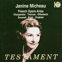 Sings French Opera Arias