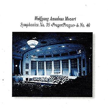 "Wolfgang Amadeus Mozart: Symphonien No. 38 ""Prague"" & No. 40"