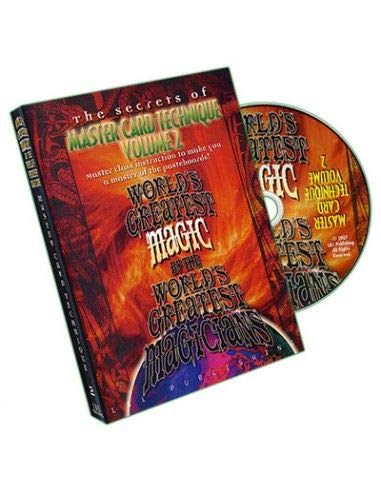 DVD The Secrets of Master Card Technique (Vol.2)