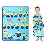 Franco Kids Bedding Super Soft Silk Touch Throw, 40' x 50', Despicable Me Minions