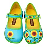 Hot Chocolate Design Mini Chocolaticas Sunflower Bailarina Mary Jane para Niñas Multicolor HCD...