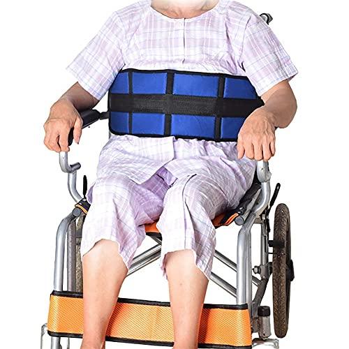 Sujeción de cinturón para silla de ruedas y sillón geriátrico Talla única Extra largo Cinturón de seguridad para asiento de silla de ruedas Arnés de cinturón de seguridad para scooter