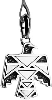 David YURMAN Sterling Silver Thunderbird Amulet Enhancer New 8P Box