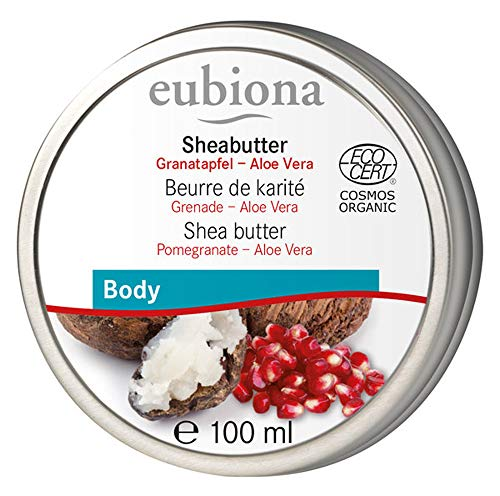 eubiona Sheabutter mit Granatapfel & Aloe Vera (100 ml)