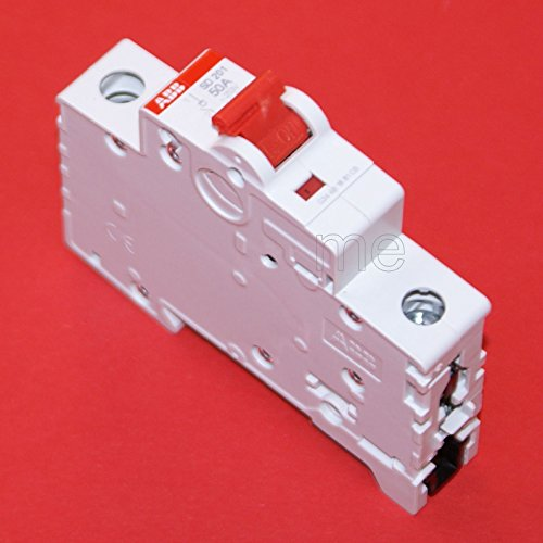 ABB SD201/50 Hauptschalter Lasttrennschalter Schalter 1-polig 50A rot