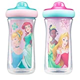 Disney Princess Insulated Hard Spout Sippy Cups 9 Oz, 2pk | Scan