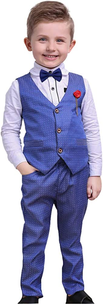 Christmas Direct sale of Popularity manufacturer Boys Suits Toddler Boy Outfits Shirts Sleeve + Ve Long