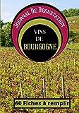 Journal De Dégustation Des Vins De Bourgogne: Carnet à remplir pour Amateur de Vin - Œnologue - Sommelier ET Gouteur / 60 fiches / 1 page Bonus sur le terroir / Sommaire