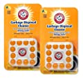 Arm & Hammer 24-Count Sink Garbage Disposal Cleaner, Freshener & Deodorizer Capsules Citrus Scent, with Power of Baking Soda