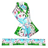 Sylveon Shiny Double-Sided Flannel Scarf, Plush Warm Scarf For Adults And Children