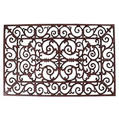 Esschert Design antik L Türmatte, Gusseisen, braun, 71,5 x 46 x 1,9 cm