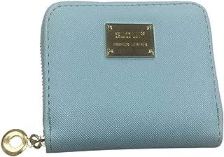 Ronshin Fashion Men Women Portable Solid Color Zippers Handbag Coin Purse