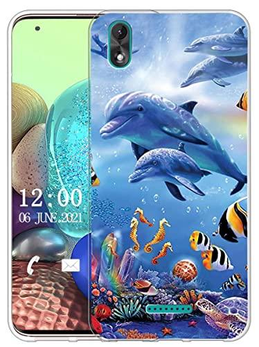 Sunrive Kompatibel mit Wiko Lenny 4 Plus Hülle Silikon, Transparent Handyhülle Schutzhülle Etui Hülle (X Wal)+Gratis Universal Eingabestift MEHRWEG