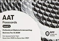 AAT Business Tax FA2020: Passcards