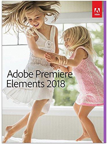Adobe Premiere Elements 2018 | Upgrade English | PC/Mac | Disque