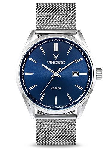 Orologio - - Vincero - Blu-SilM-K13