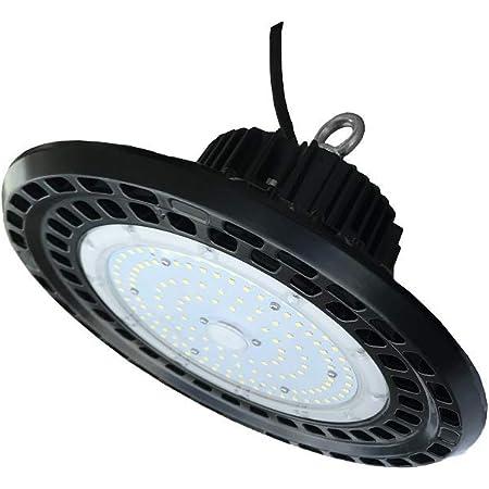 6X 100W UFO LED High Bay Light Super Bright Warehouse Garage Work Shop Lighting