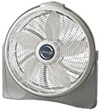 Lasko 3520 20' Cyclone Pivoting Floor Fan,White 20