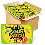 Sour Patch Kids Theatre Size Boxes (Pack of 12) from Candy Crate