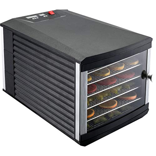 Find Discount JAYETEC Food Dehydrators, 6 staniless steel trays with digital adjustable,temperature ...