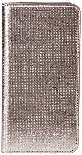 Samsung ef-fg850bf Klapptasche Galaxy Alpha Gold