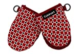 Cuisinart Silicone Mini Oven Mitts, 2 Pack-Little Oven Gloves for Cooking-Heat Resistant, Non-Slip,...