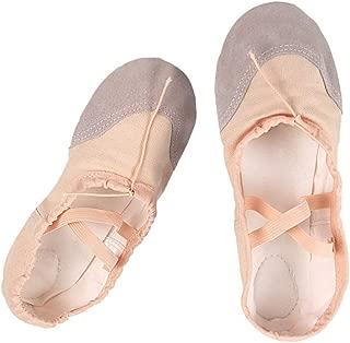 SUPVOX Ballet Flats Shoes Ballet Slippers Pilates Yoga Shoes Dance Gymnastics for Children Adults シSize 22シ