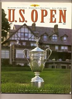 1993 U.S. Open Golf Program Baltusrol Golf Club