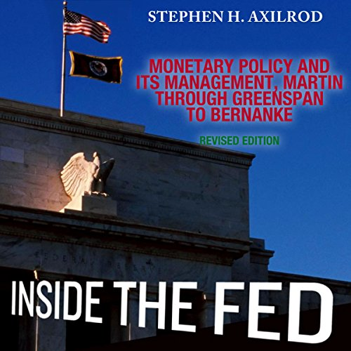 Inside the Fed Audiobook By Stephen H. Axilrod cover art
