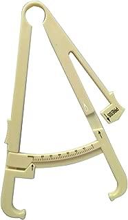 ROSENICE Body Fat Tester Analyzer Fat Measuring Clamp Fat Caliper (White)