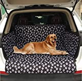 XXYMCB Funda para Silla de Coche para Perros Protección para Mascotas Mascotas Alfombra Impermeable Porta-Perros Alfombra trasera-13